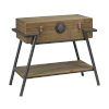 This item: Black and Brown 16-Inch Table