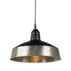This item: Black and Silver Hanging Lamp