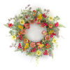 This item: Multicolor 20-Inch Poppy Wreath