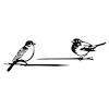 This item: Black Bird Stake, Set of 6