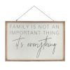 This item: Brown and White Family Frame