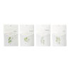This item: Green and White Herb Wall Pocket, Set of 4