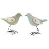 This item: Blue and Green Bird Figurine, Set of 4