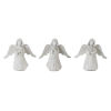 This item: White and Brown Angel Figurine, Set of 6