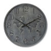 This item: Grey and Black 28-Inch Clock