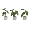 This item: Green and Brown Potted Foliage, Set of 6