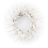 This item: White and Brown 25-Inch Blossom Wreath