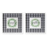 This item: Black and White Word Tile, Set of 2