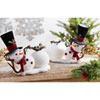 This item: Lounging Snowman, Set of Two