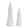 This item: White Holly and Cone Tree, Set of Two