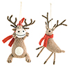 This item: Felted Wool Animal Ornament, Set of 12