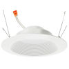 This item: White 6-Inch LED Retrofit Baffle Trim Downlight with Polycarbonate Shade