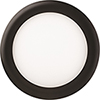 This item: 12.7W LED Ultra Thin 6 Inch Round Dimmable Recessed Ceiling Light 2700K, Warm White in Black
