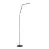 This item: Biju Black 55-Inch Integrated LED Adjustable Floor Lamp