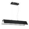 This item: Ultimor Black and Chrome Integrated LED Pendant