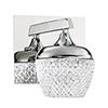 This item: Arika Chrome LED Bath Sconce