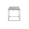 This item: Stainless Steel End Table with Stone Top