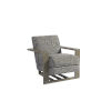 This item: Teague Gray 31-Inch Chair