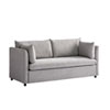 This item: Gray Young House Love Mellow Fabric Sofa