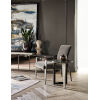 This item: Nina Magon Talbott Smoke Accent Chair