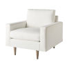 This item: Miranda Kerr Brentwood White Lacquer Arm Chair