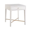 This item: Miranda Kerr Love Joy Bliss Alabaster and Soft Gold End Table