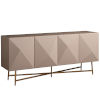 This item: Miranda Kerr Runway Taupe Lacquer Console