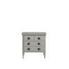 This item: Gray Three-Drawer Wood Nightstand