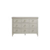This item: Gray Three-Drawer Wood Dresser