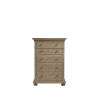This item: Brown Five-Drawer Tall Wood Bedroom Chest