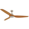 This item: Lucci Air Airfusion Type A Brushed Chrome 60-Inch DC Ceiling Fan