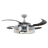 This item: Fanaway Classic Chrome and Espresso 48-Inch LED Ceiling Fan