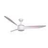 This item: Lucci Air Matt White LED Ceiling Fan with White Wash Blades