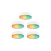 This item: White RGB Under Cabinet LED Puck Light, Pack of 5