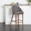 This item: Genesis Brown 21-Inch Barstool