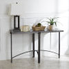 This item: Saint Grey and Gunmetal Console Table