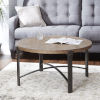 This item: Saint Pine and Gunmetal Round Coffee Table