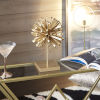 This item: Baker Gold Bow Stand Table Decor