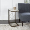 This item: Charlotte Bronze and Faux Marble C-Table