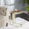 This item: Jaxtyn Brown C Table with Sling Magazine Holder
