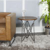 This item: Light Graphite and Gunmetal Tripod Accent Table
