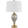 This item: Abram Gold 15-Inch One-Light Table Lamp