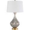 This item: Abram Gold 16-Inch One-Light Table Lamp