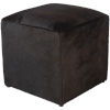 This item: Angus Dark Brown 16-Inch Pouf