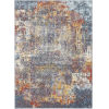 This item: Ankara Multi-Color Rectangle 6 Ft. 7 In. x 9 Ft. Rugs