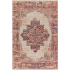 This item: Amsterdam Bright Red and Ivory Rectangular: 8 Ft. x 10 Ft. Rug