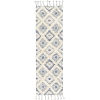 This item: Apache Dark Blue and Cream Runner 2 Ft. 6 In. x 8 Ft. Rugs