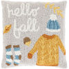 This item: Autumn Taupe 18-Inch Throw Pillow