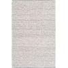 This item: Azalea Medium Gray Rectangle 8 Ft. 10 In. x 12 Ft. Hand Woven Rug