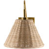This item: Cerro Natural 15-Inch One-Light Wall Sconce